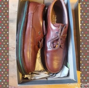 Hush Puppies Brown Mall Walker Shoes 10.5 Wide